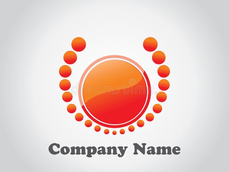 总公司徽标 向量例证