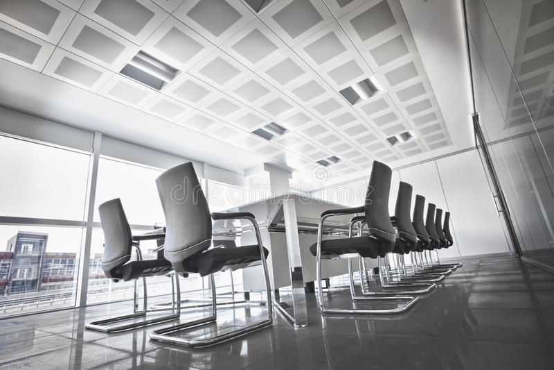 总公司的会议室 免版税库存图片