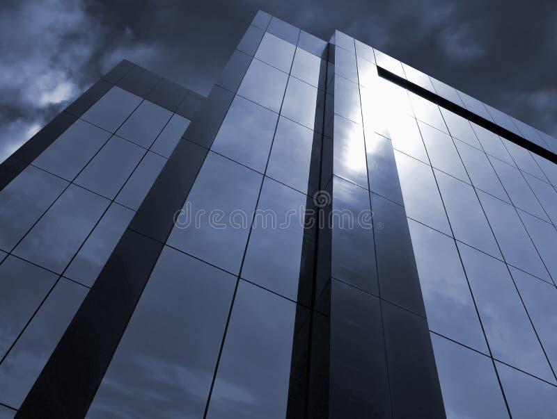 总公司风雨如磐 免版税库存照片