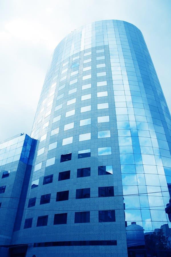 总公司11个的大厦 库存照片