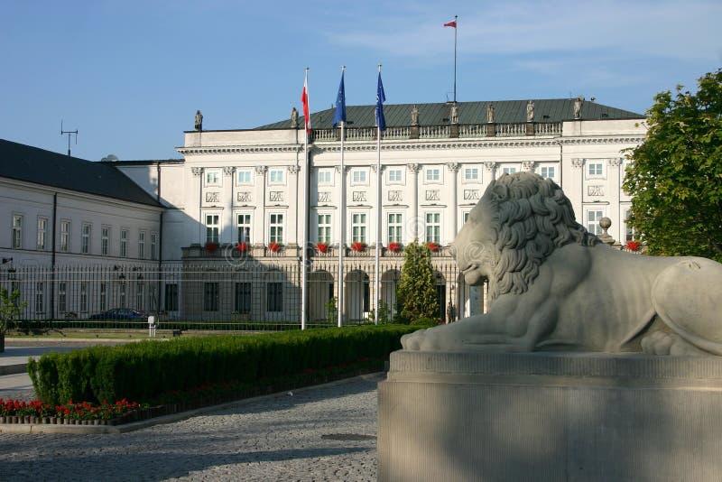 总统的宫殿 免版税库存图片