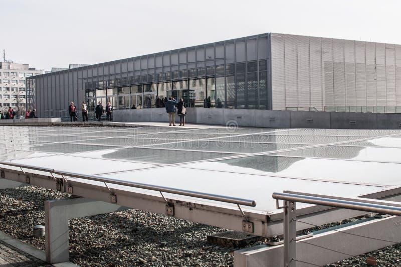 恐怖博物馆,柏林,德国地势  图库摄影