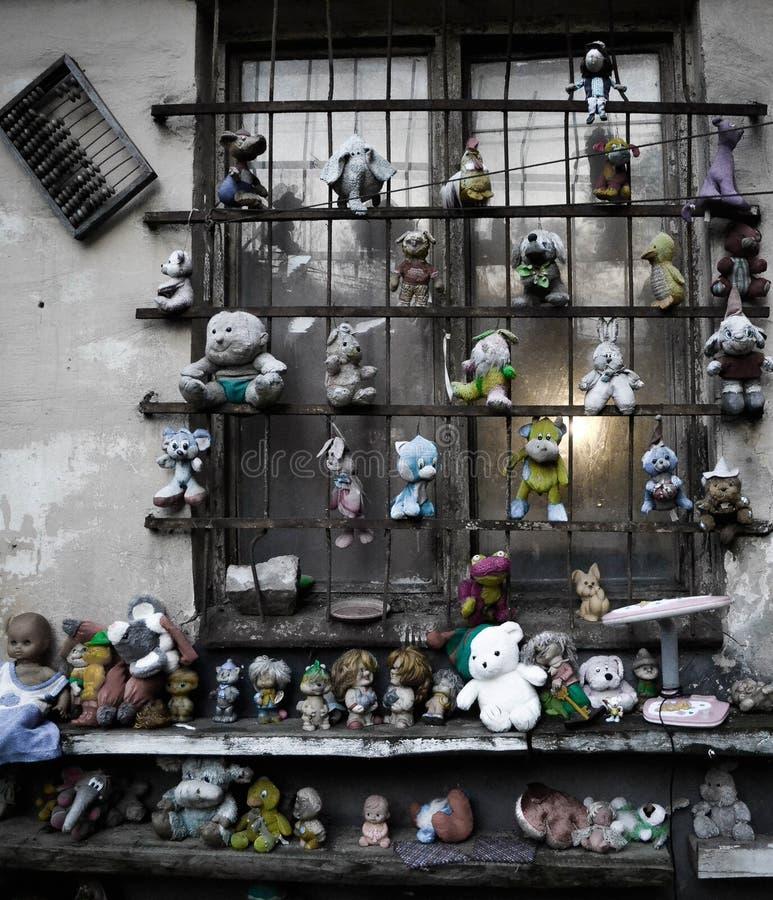 恐怖玩具 免版税库存照片