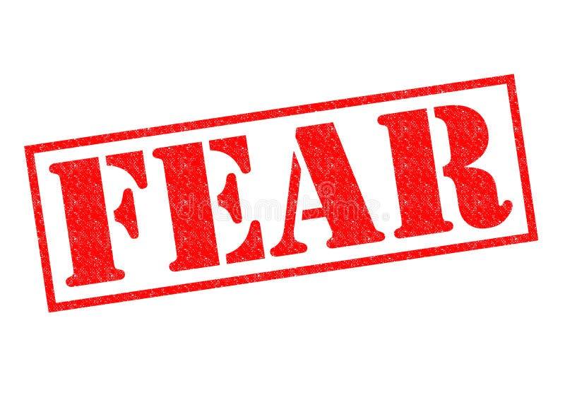 恐惧不加考虑表赞同的人 皇族释放例证