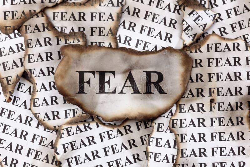恐惧 免版税图库摄影