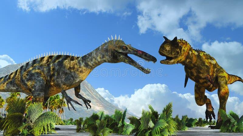 恐龙二 皇族释放例证