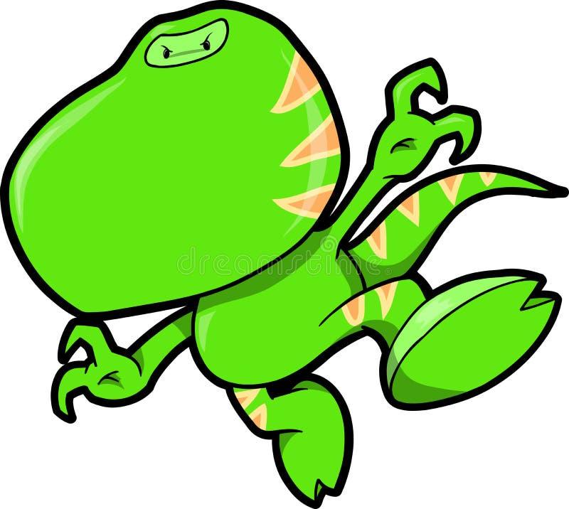 恐龙例证ninja向量 向量例证