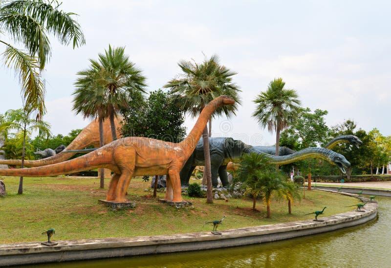 恐龙公园 库存图片