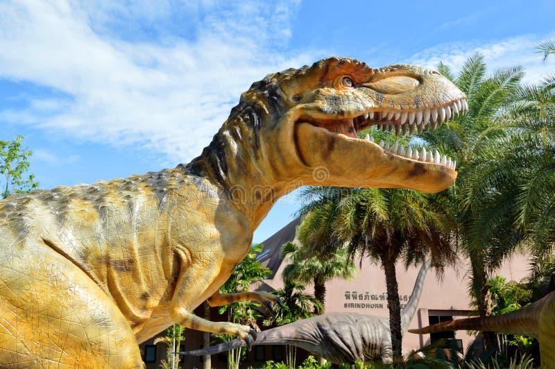 恐龙公园 图库摄影