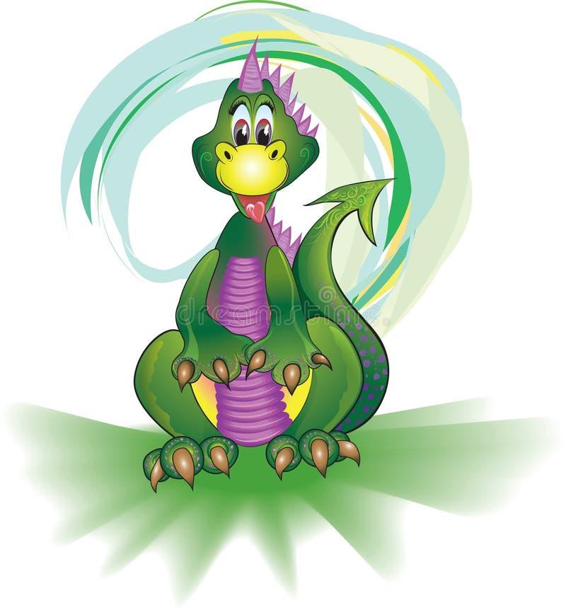 恐龙绿色 免版税图库摄影