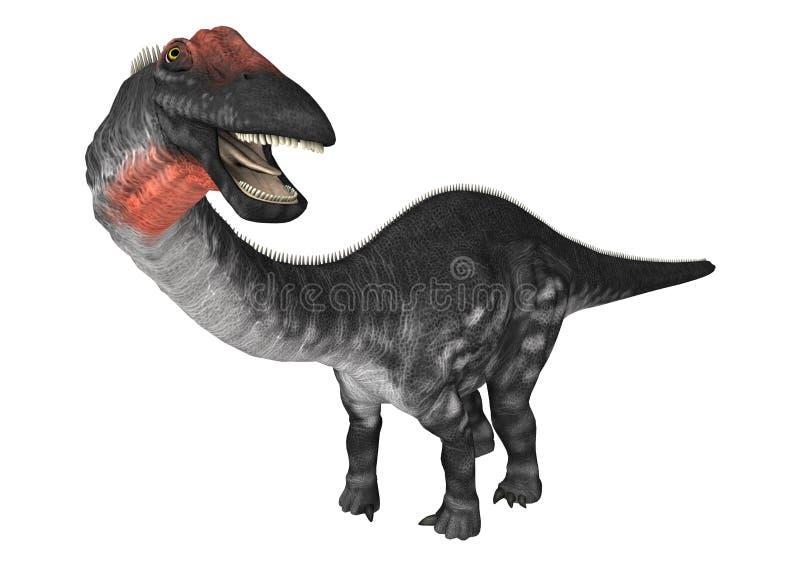 恐龙雷龙属 向量例证