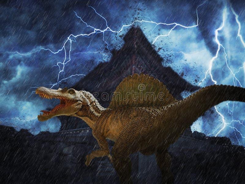 恐龙 库存图片