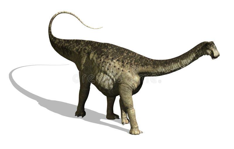 恐龙nigersaurus 库存例证