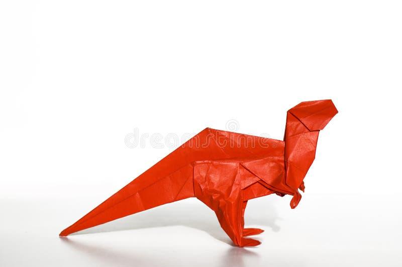 恐龙origami 库存图片