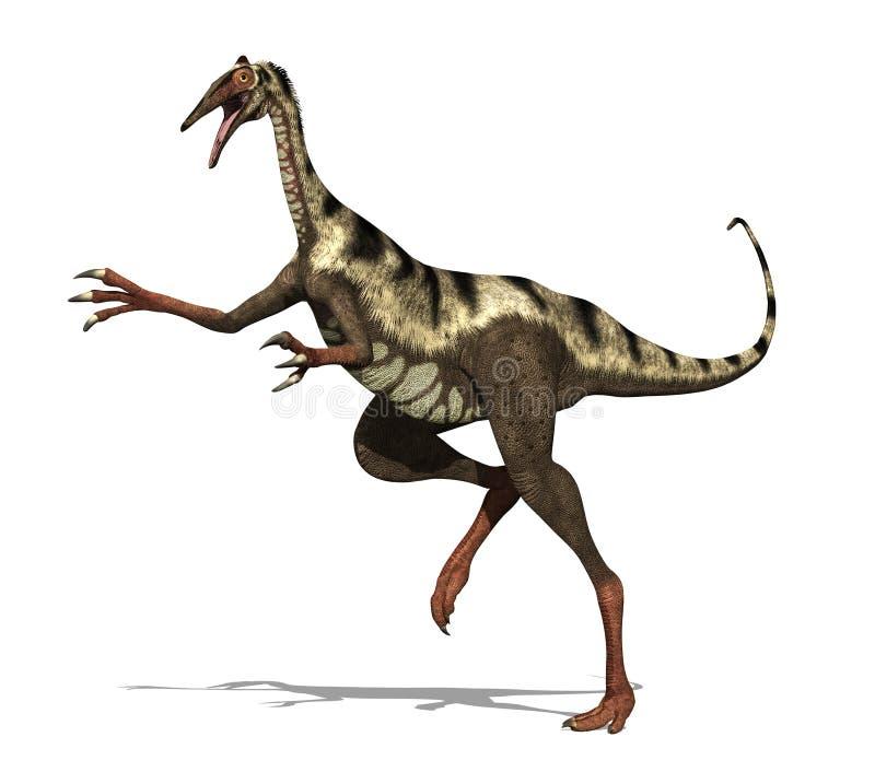 恐龙pelicanimimus 库存例证