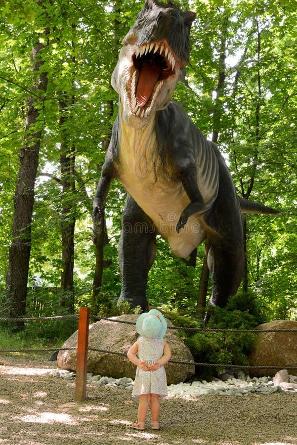 恐龙rex t 免版税库存图片