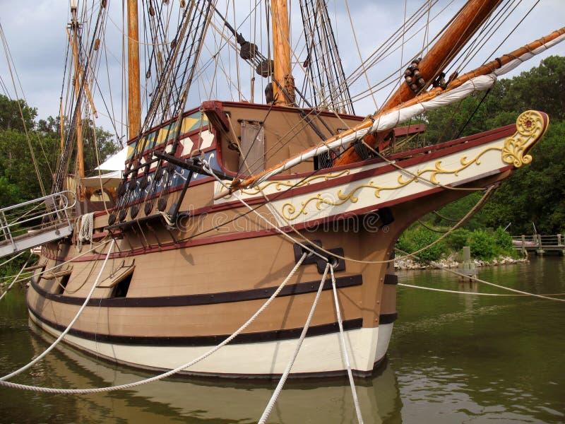 恒定的帆船苏珊 免版税库存照片