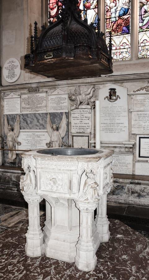 巴恩修道院在巴恩,萨默塞特,英国 库存照片