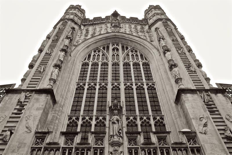 巴恩修道院教会英国 免版税库存图片