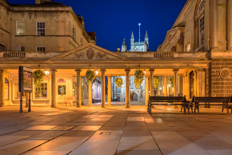 巴恩修道院英国-英国 库存照片