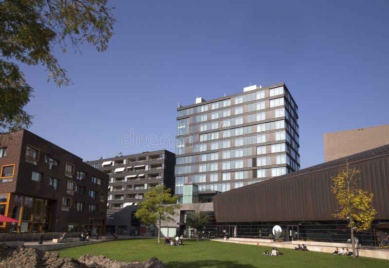 恩斯赫德市在荷兰 库存图片