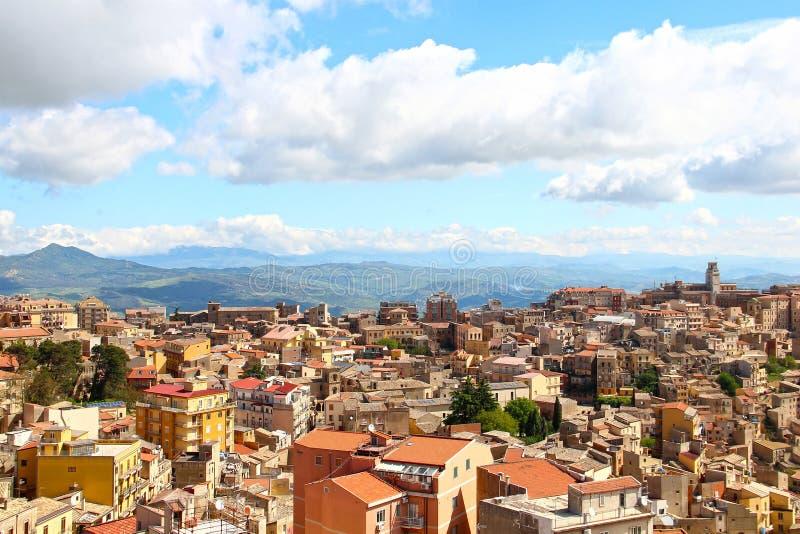 恩纳,西西里岛,意大利 免版税库存图片