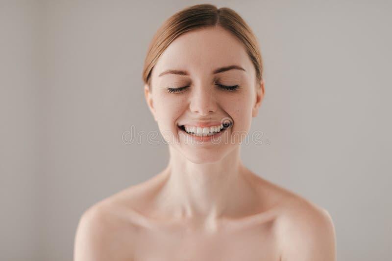 恳切的微笑 图库摄影