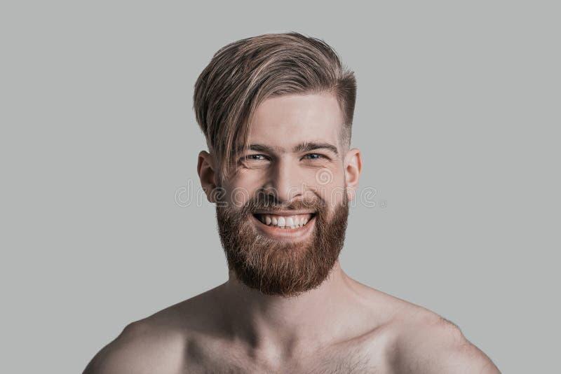 恳切的微笑 免版税图库摄影