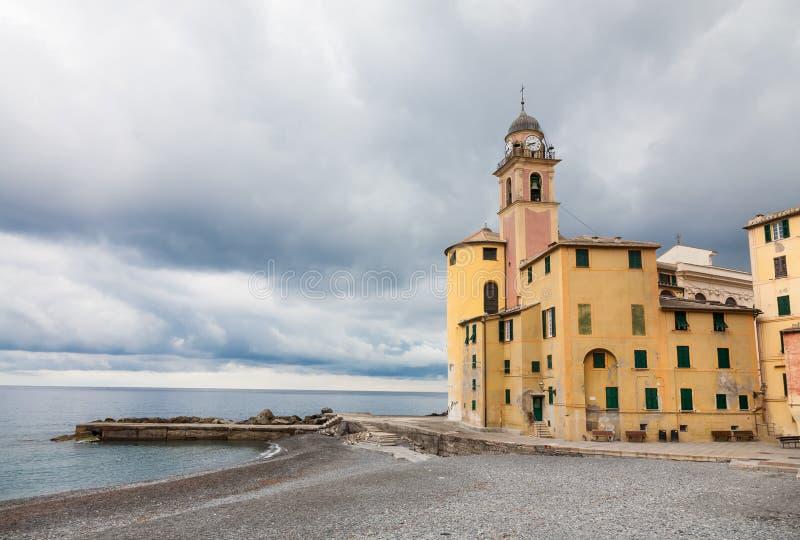 恶劣天气在卡莫利,意大利 图库摄影