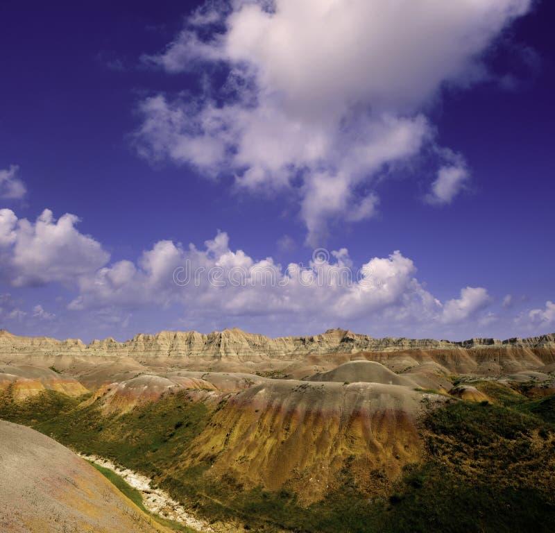 恶地国家公园 免版税库存图片