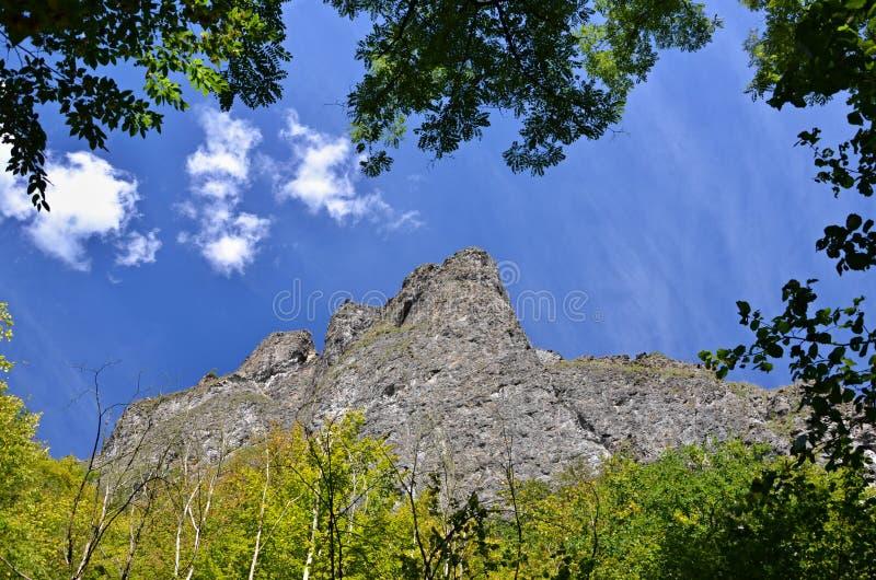 恶魔的岩石 免版税库存照片