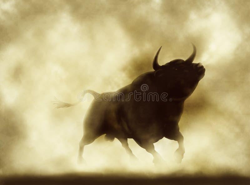 恼怒的公牛