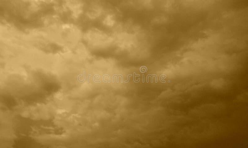 恼怒的天空 免版税图库摄影