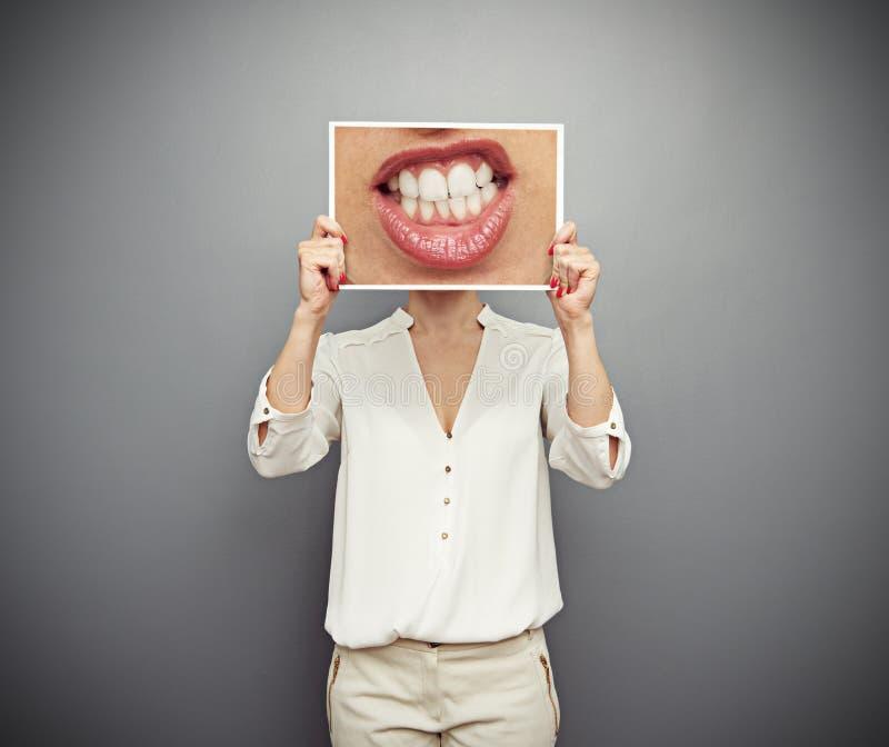 恼怒的妇女概念照片  免版税库存图片