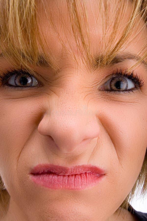 恼怒的妈妈 库存照片