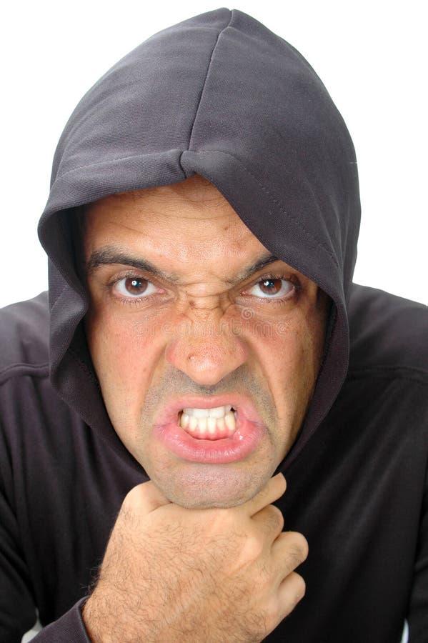 恼怒的表面 免版税图库摄影