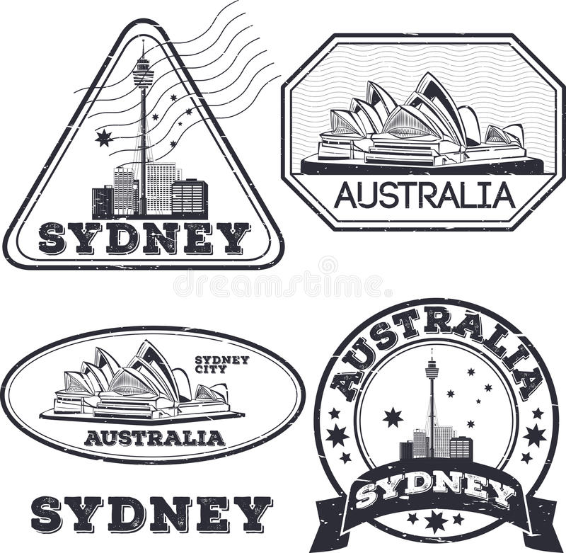Download 悉尼市邮票 库存例证. 插画 包括有 全景, 钞票, 澳大利亚, 线路, 象征, 拱道, 设计, 查出, 背包 - 72367227