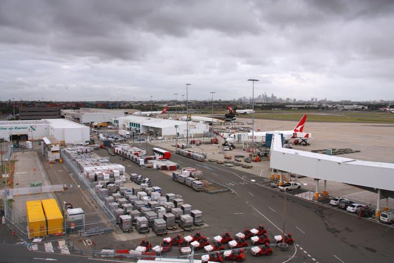 悉尼机场 免版税库存照片