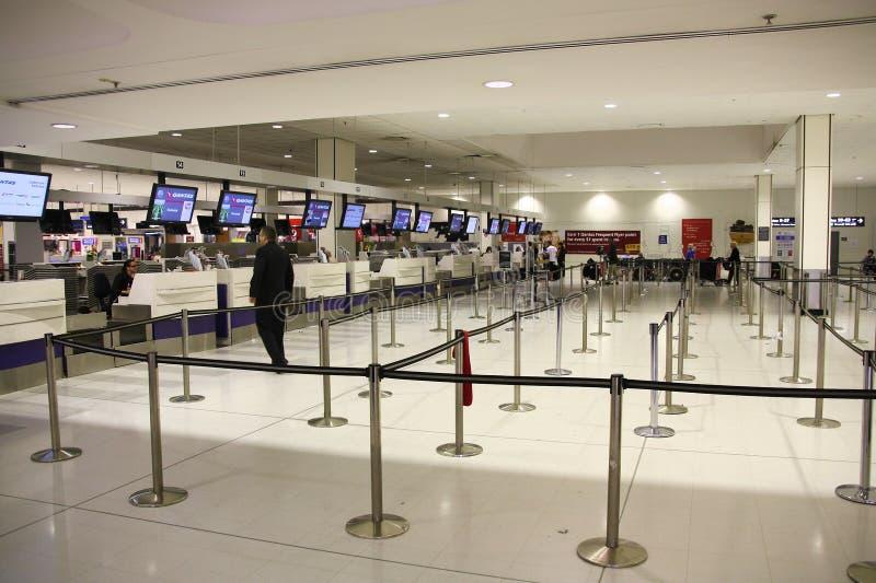 悉尼机场 免版税库存图片