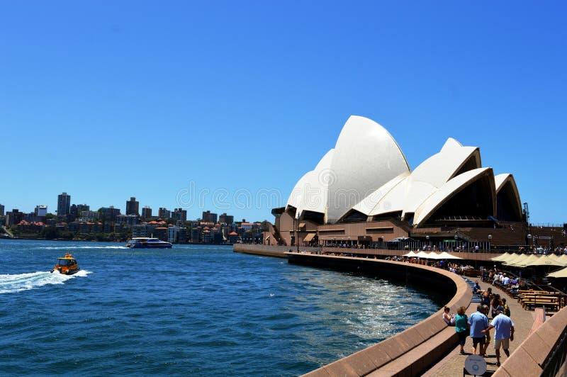 悉尼歌剧院惊人的看法在澳大利亚.图片