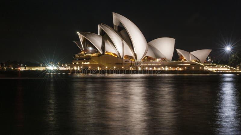 悉尼歌剧院 免版税图库摄影