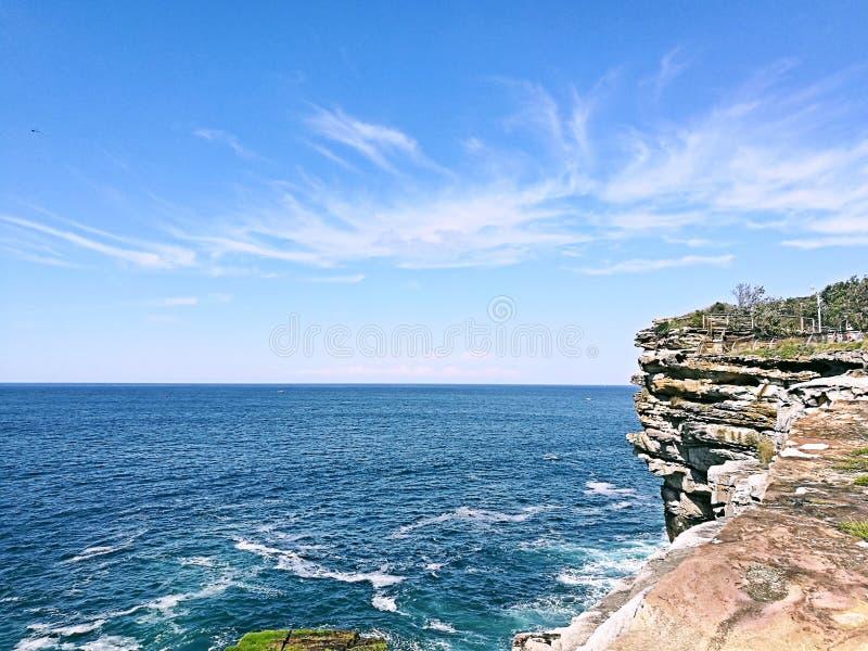 悉尼港口国家公园@ Watsons海湾 库存图片