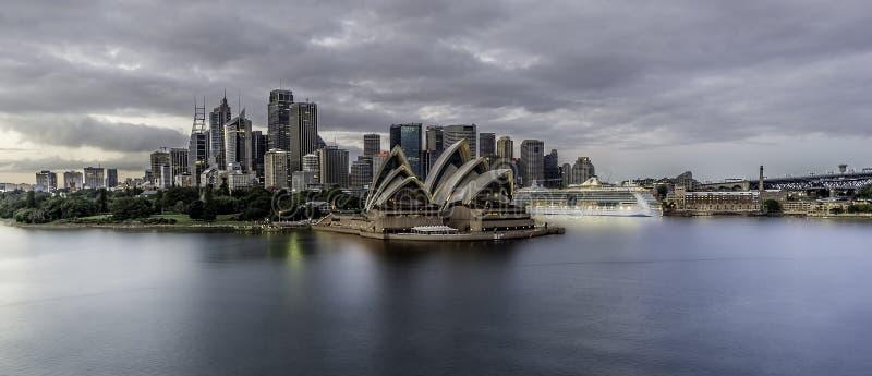 悉尼澳大利亚港口 图库摄影