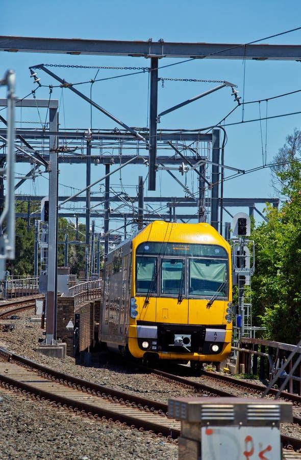 悉尼火车 免版税图库摄影