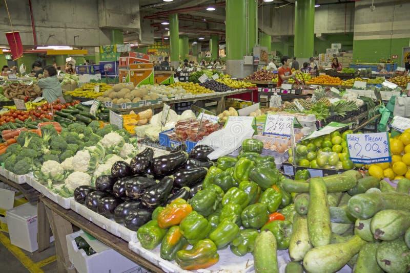 悉尼,澳大利亚3月15日2013年: :稻的市场在Haymarket。 图库摄影