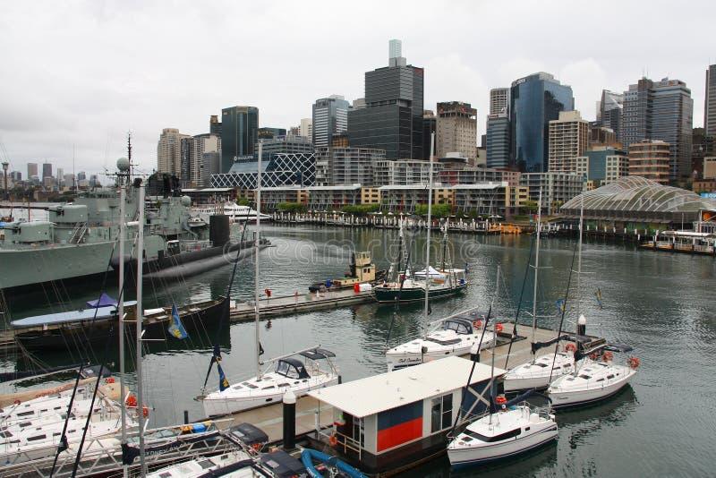 悉尼- Pyrmont 免版税图库摄影