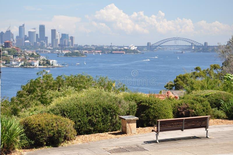 悉尼Panoram 免版税库存照片