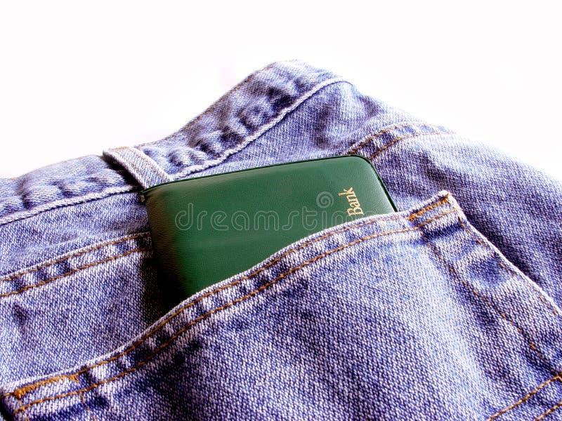 您口袋的储蓄 免版税库存照片