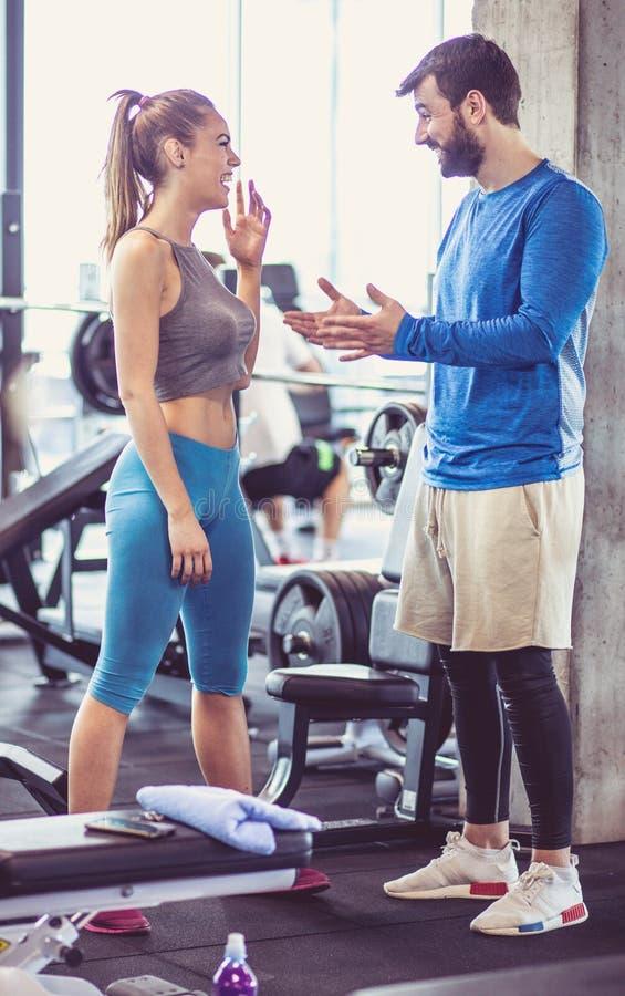 您在锻炼以后不更好感觉 免版税库存图片
