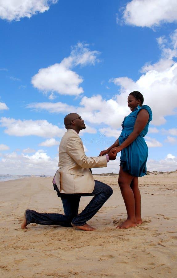 您是否与我结婚? 免版税图库摄影